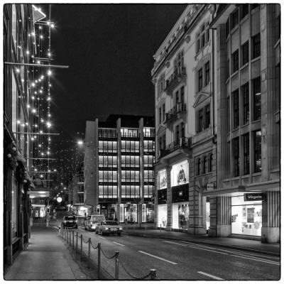 Blick von Sihlstrasse richtung Bahnhofstrasse (Klick macht Bick)
